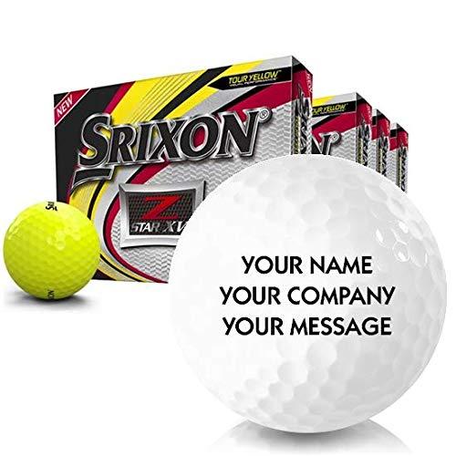 Srixon Soft Feel Lady 7 Personalized Golf Balls