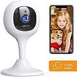 APEMAN 1080P WLAN Kamera, Babyphone mit Kamera und Überwachungskameras mit Nachtsicht Fernüberwachung kompatibel mit IOS/Android und Arbeitet mit Alexa