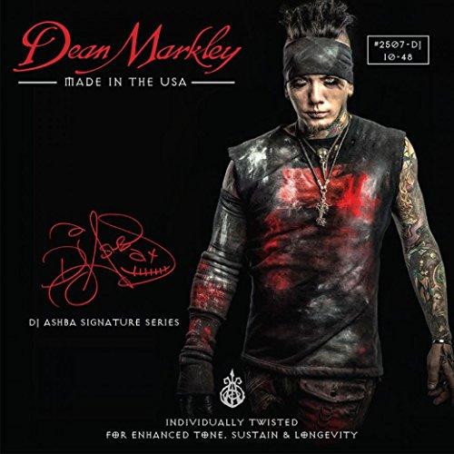 Dean Markley DM2507DJ- Puntas de guitarra eléctrica de acero níquel, tamaño 10-48
