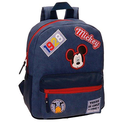 Disney Mickey Parches Zainetto per bambini, 32 cm, 8.64 liters, Blu (Azul)