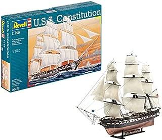 Revell- U.S.S. Constitution Maqueta Embarcacion, 13+ Años, Multicolor (05472)