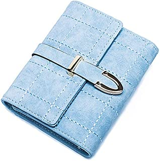 Pusaman The New Women's Wallet, Purse Handbag Fashion Students (Color : Blue)