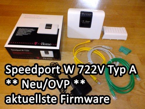 Deutsche Telekom T-Home Speedport W722V WLAN-/VDSL-Router weiß/schwarz