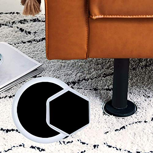 POHOVE Furniture Sliders, Reusable Self-Stick Furniture Glider Pads And...