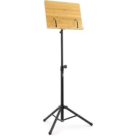 Schönes Orchesterpult sehr stabil in Rosenholz laminiert höhenverstellbar