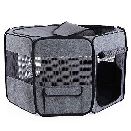 Petsfit 42' Dia x 27H Portable Foldable Pop Up Dog...