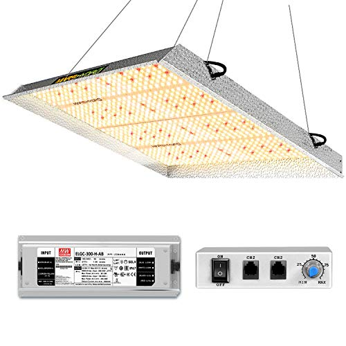 MARS HYDRO TS 3000W LED Grow Light for Indoor Plants 4x4 5x5 ft Commercial Grow Lighting Daisy Chain and Dimmable Full Spectrum Plant Growing Light IR Sunlike Led Grow Lamp for Greenhouse 1016pcs LEDs