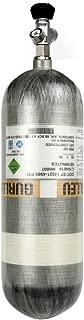 IORMAN 9L Carbon Fiber Air Tank 4500psi DOT Approved Composite Cylinder with Valve Gauge Regulator for Scuba SCBA PCP Air Gun Paintball(Empty Bottle)