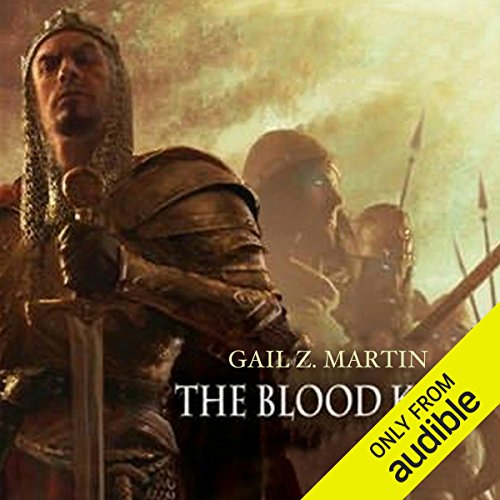 The Blood King     Chronicles of the Necromancer, Book 2              By:                                                                                                                                 Gail Z. Martin                               Narrated by:                                                                                                                                 Gail Z. Martin,                                                                                        Peter Ganim                      Length: 17 hrs and 31 mins     368 ratings     Overall 4.3