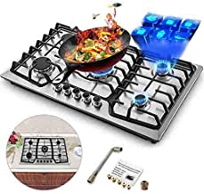 Best stainless steel gas hob with wok burner Reviews