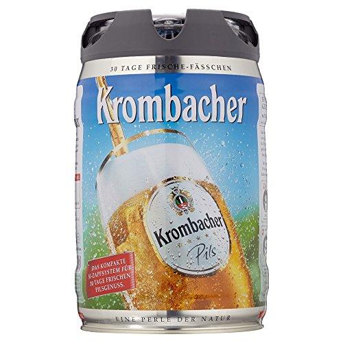 Krombacher Frische Fässchen, (1 x 5 l)