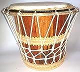 Percusión Brasileña - Tambor de Madera (Bacurinha) con cuerda - 15x18cm