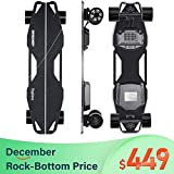 Spadger Electric Skateboard D5X Plus 35'' Boosted Longboard, 23Mph...