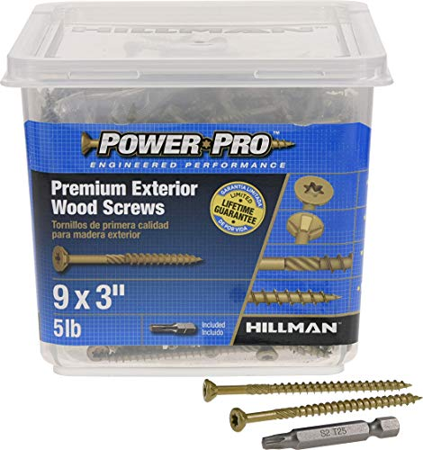800-Piece WoodPro Fasteners AP8X2-5 T20 5-Pound Net Weight 8 by 2-Inch All Purpose Wood Construction Screws