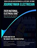 2020 Journeyman Electrician Exam Questions and Study Guide: 400+ Questions from 14 Tests: Practice Exams, Exam Review, Testing Tips