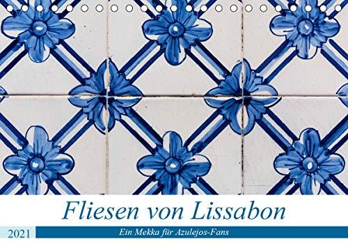 Fliesen von Lissabon (Tischkalender 2021 DIN A5 quer)