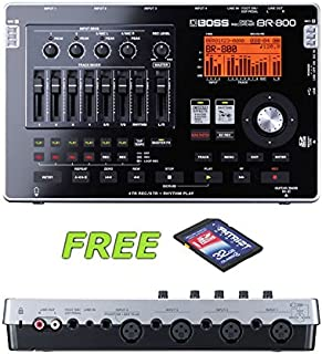 Boss BR-800 Digital Recorder with a Free Patriot 32GB SD Card