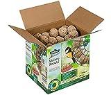 Dehner Natura Wildvogelfutter, Meisenknödel, ohne Netz, im Karton, 100 Stück (10 kg)