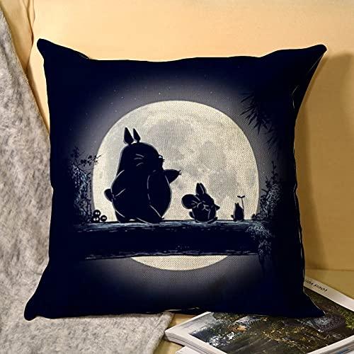 Best-design My Neighbor Totoro Home Brilliant Decor - Funda de cojín para sofá (45 x 45 cm)