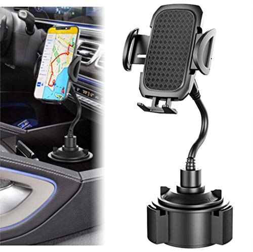 Car Phone Mount Phone Holder for car Compatible with iPhone 11/11 Pro/Xs/XS Max / 8/7 / 6, Google Pixel 3 XL, Samsung Galaxy S9, and Other Smart Phones, Black