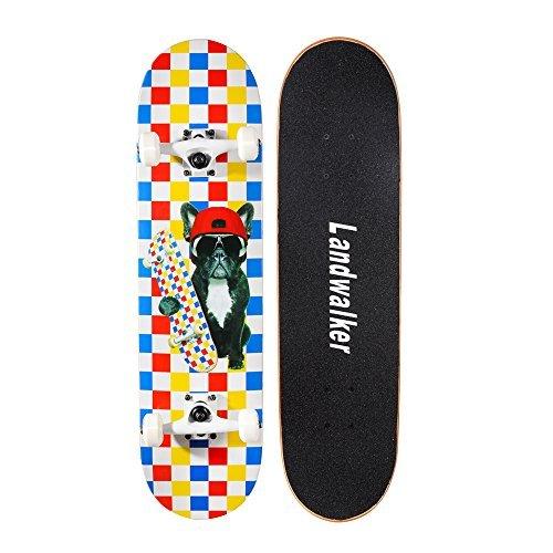 Landwalker Pro Cruiser Complete Girl Skateboard 31x8 Inch