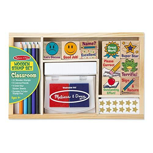Buy Melissa Doug Deluxe Classroom Stamp Set B000gyuy9m