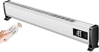 HEATER ZLMI Radiador, Calentador de Ventilador, Montaje en Pared/Vertical de Doble Uso, Control de Temperatura, protección de Potencia de inclinación, Calentamiento silencioso sin radiación,1.36M