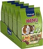 Vitakraft Menu Cochon d'Inde - Alimentation complète - Lot de 5 sachets fraîcheur de 800gr