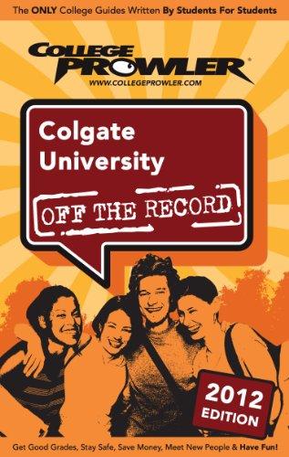 Colgate University 2012 (English Edition)
