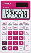 Casio SL-300NC-RD Basic Calculator Large Display Tax Calc. RED