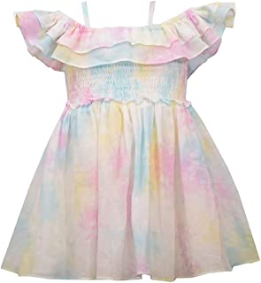 Girl's Tie Dye Dress for Baby, Toddler and Little Girls
