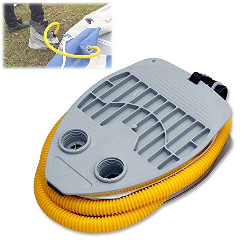 FFYUE Bomba Inflable del pie para embarcaciones inflables, fácil de Transportar energía Segura y Duradera, Accesorios inflables del Barco de Pesca del Barco,5l
