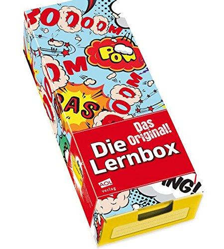 Die Lernbox (DIN A8) - Design: Comic: Lernbox zum Selbstbefüllen, fertig montiert