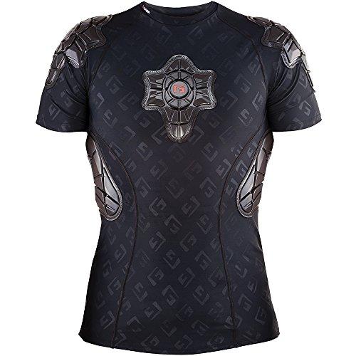 G Form PRO-x Shirt Men Black/GF Logo 2018 - Protezione per Il Corpo Unisex, Unisex - Adulto, Protezione della Parte Superiore del Corpo, SS0102335, Nero, L