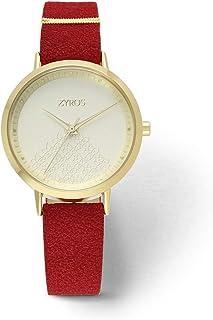 Zyros Watch for Women, Analog, Leather - ZAV005L014033