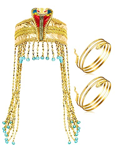 3 Pieces Egyptian Costume Access...