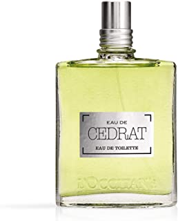 L'Occitane Men's Cedrat Cologne, 2.5 Fl Oz