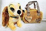 XINRUIBO Disney Susi und Strolch - So charmant, 8' Lady Kuscheltier mit mitschleppen Plüschbeutel/Geldbeutel Shrek Spielzeug