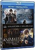 Animales Fantasticos Y Como Encontrarlos + Animales Fantásticos: Los Crímenes De Grindelwald Blu-Ray [Blu-ray]
