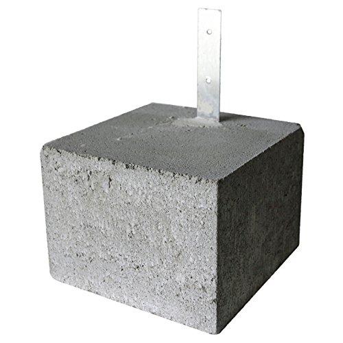久保田セメント工業 束石 金具付 1個 16101059