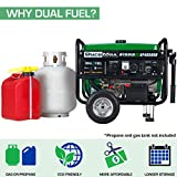 Photo #2: Propane Generator made by DuroMax [XP4850EH] Gas and Propane Compatible
