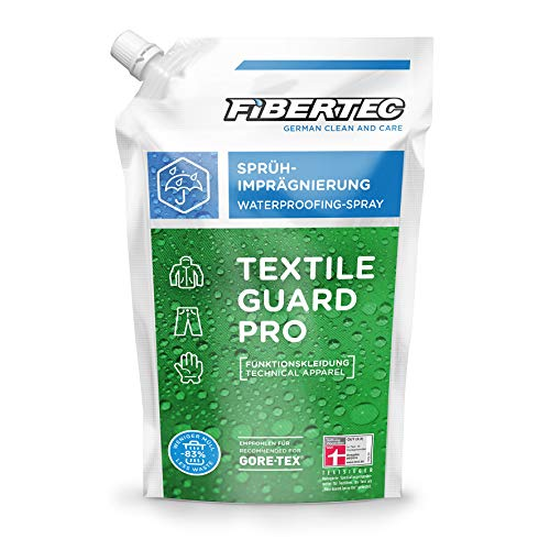Fibertec Textile Guard Pro Imprägniermittel 500ml Nachfüllbeutel