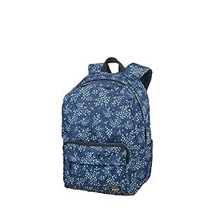 51rrImoLxRL. SS300  - American Tourister Urban Groove Lifestyle - Mochila, 40 cm, 23 L, Azul (Blue Floral)