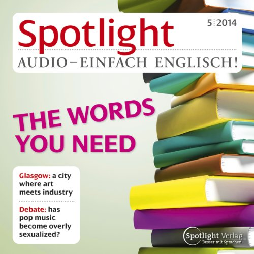 Spotlight Audio - The words you need. 5/2014 Titelbild