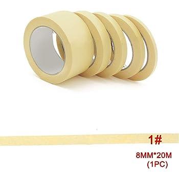 Lot de 2 MODELCRAFT 10/mm x 18/m Ruban adh/ésif de masquage de pr/écision