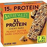 Nature Valley Granola Bars, Peanut Butter Dark Chocolate, Gluten Free, 14.84 oz, 7 ct (Pack of 6)