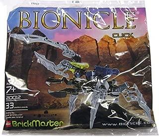 LEGO Bionicle BrickMaster Exclusive Mini Building Set #20012 Click (Bagged)