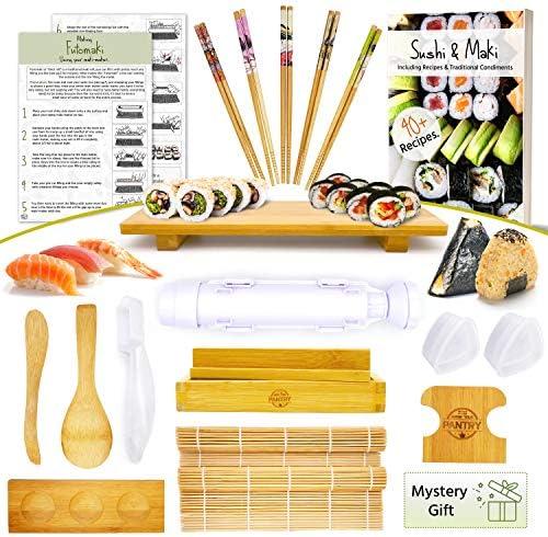 Sushi Making Kit Make Every Type of Sushi with Rolling Mats Maki Onigiri Nigiri Molds aswell product image