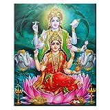 Lesign 5d Diy Diamond Painting Full Square Lakshmi Rhinestones Imágenes Diamante Bordado India Venta De Mosaico Religioso Decoración Del Hogar 08x12inch NoFramed