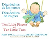 Image of Diez deditos de las manos y Diez deditos de los pies / Ten Little Fingers and Ten Little Toes bilingual board book (Spanish and English Edition)